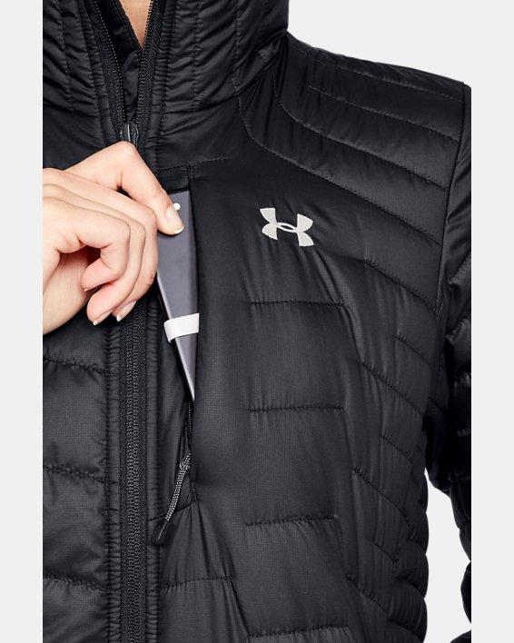 Women's ColdGear® Reactor Jacket, Black, pdpMainDesktop image number 5