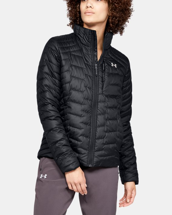 Women's ColdGear® Reactor Jacket, Black, pdpMainDesktop image number 0