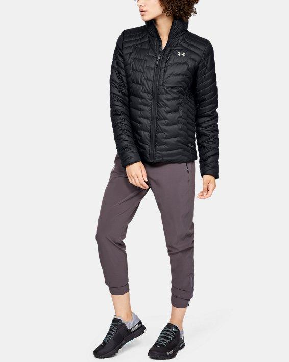 Women's ColdGear® Reactor Jacket, Black, pdpMainDesktop image number 1