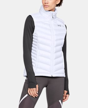 Women's UA Iso Down Vest  1  Color Available $180