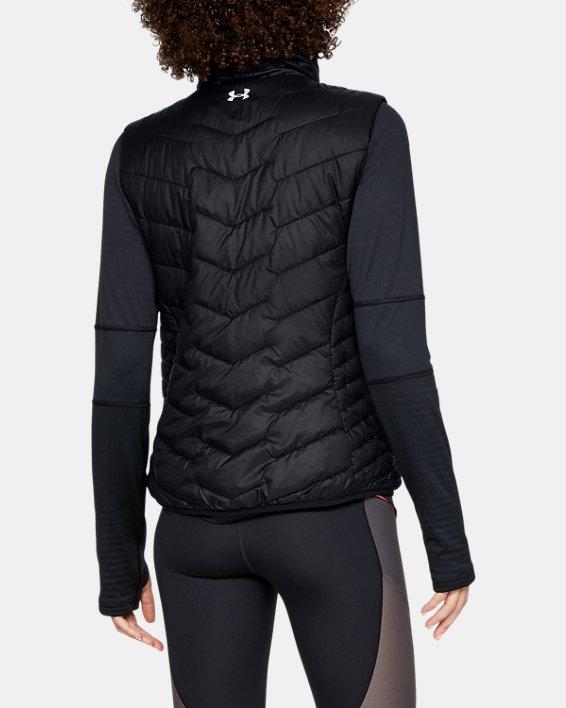 Women's ColdGear® Reactor Vest, Black, pdpMainDesktop image number 2