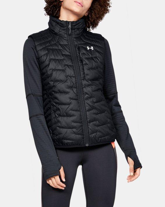 Women's ColdGear® Reactor Vest, Black, pdpMainDesktop image number 0