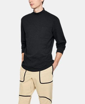 New to Outlet Waffle Mock Neck  1 Color $90