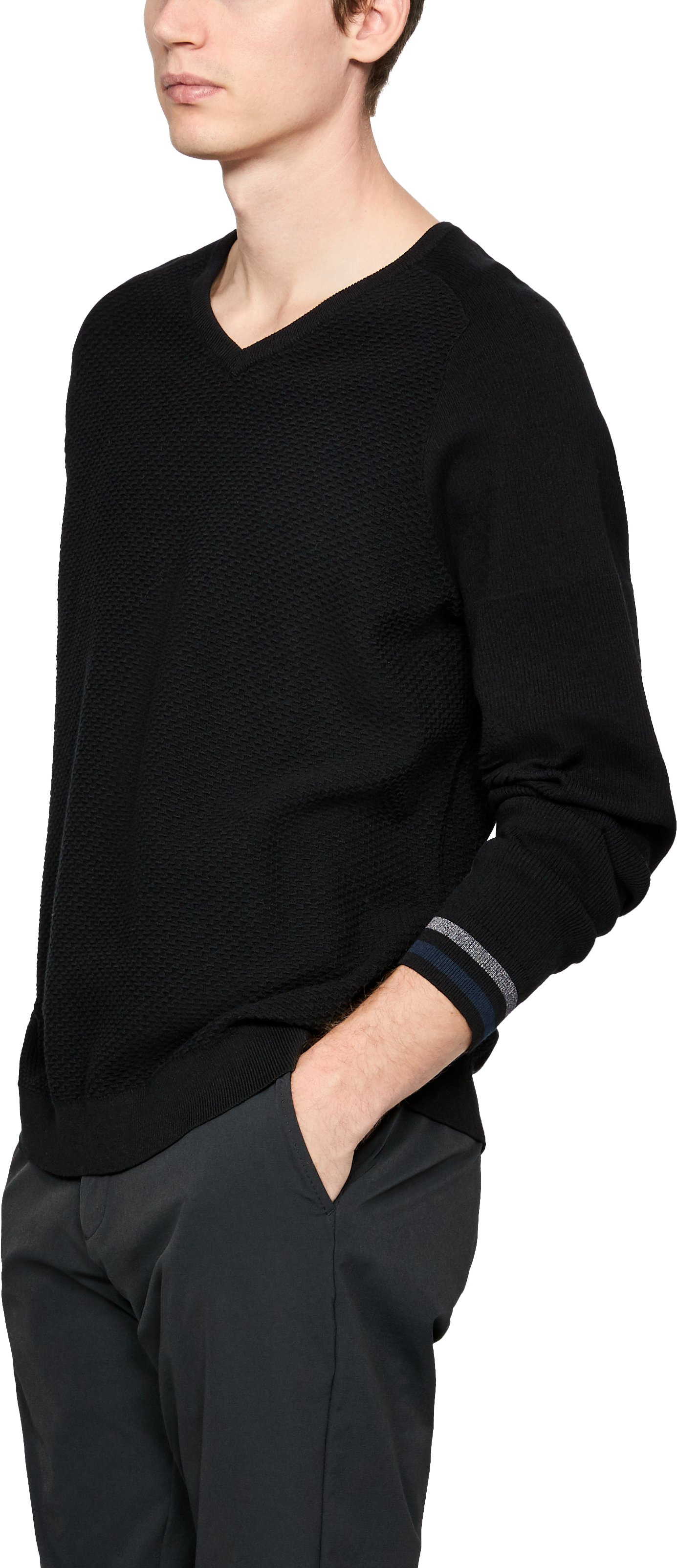 Men's UAS V-Neck Sweater 2 Colors $90.00