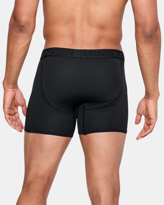 "Men's UA Microthread 6"" Boxerjock®, Black, pdpMainDesktop image number 1"
