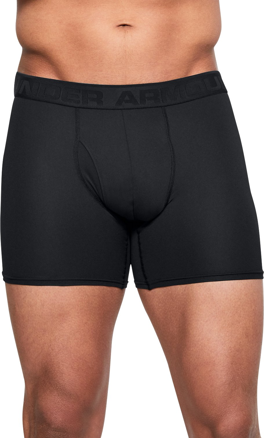 "Men's UA Microthread 6"" Boxerjock®, Black ,"