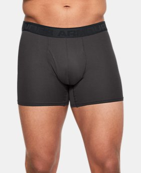 "New Arrival  Men's UA Microthread 6"" Boxerjock®  3 Colors $30"