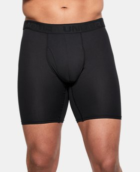 "New Arrival  Men's UA Microthread 9"" Boxerjock®  3 Colors $30"