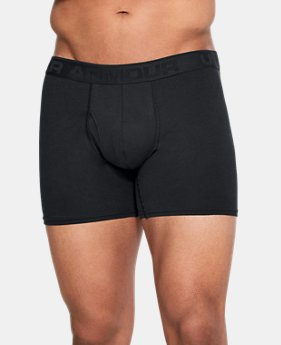 "Best Seller Men's UA Microthread Natural 6"" Boxerjock®  1 Color $25"