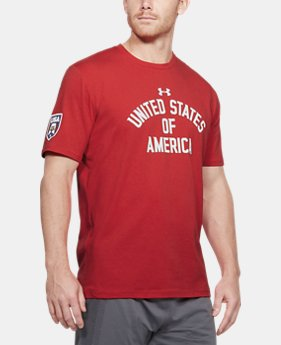Men's UA Stars & Stripes Verbiage T-Shirt 1 Color Available $30