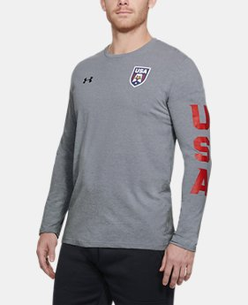 New Arrival Men's UA USA Patriot Long Sleeve  1 Color $35