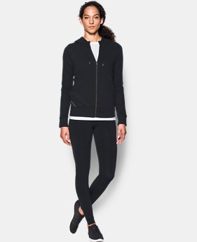 Women's UA French Terry Full Zip Hoodie  1 Color $69.99