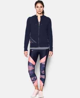 Women's UA French Terry Full Zip Hoodie  1 Color $59.99