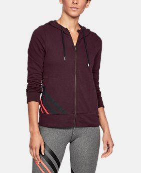 Women's UA French Terry Full Zip Hoodie  1 Color $41.99 to $44.99