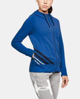 Women's UA French Terry Full Zip Hoodie  2 Colors $41.99 to $59.99
