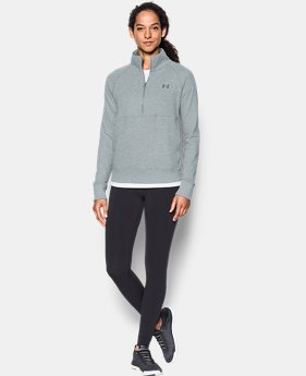 Women's UA French Terry ½ Zip Sweatshirt  1 Color $59.99