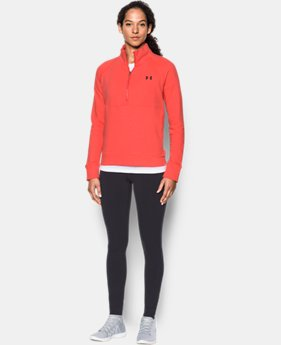 New to Outlet Women's UA French Terry ½ Zip Sweatshirt  1 Color $44.99