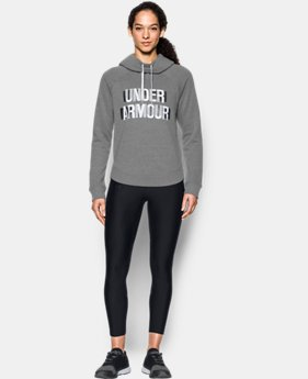 Women's UA Fashion Favorite Word Graphic Pullover LIMITED TIME OFFER 1 Color $51.99