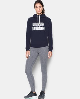 New to Outlet Women's UA Fashion Favorite Word Graphic Pullover LIMITED TIME OFFER 2 Colors $39.99