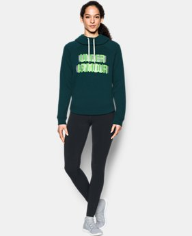 Women's UA Fashion Favorite Word Graphic Pullover  1  Color Available $29.99 to $37.49