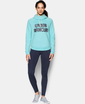 New to Outlet Women's UA Fashion Favorite Word Graphic Pullover LIMITED TIME OFFER 1 Color $39.99