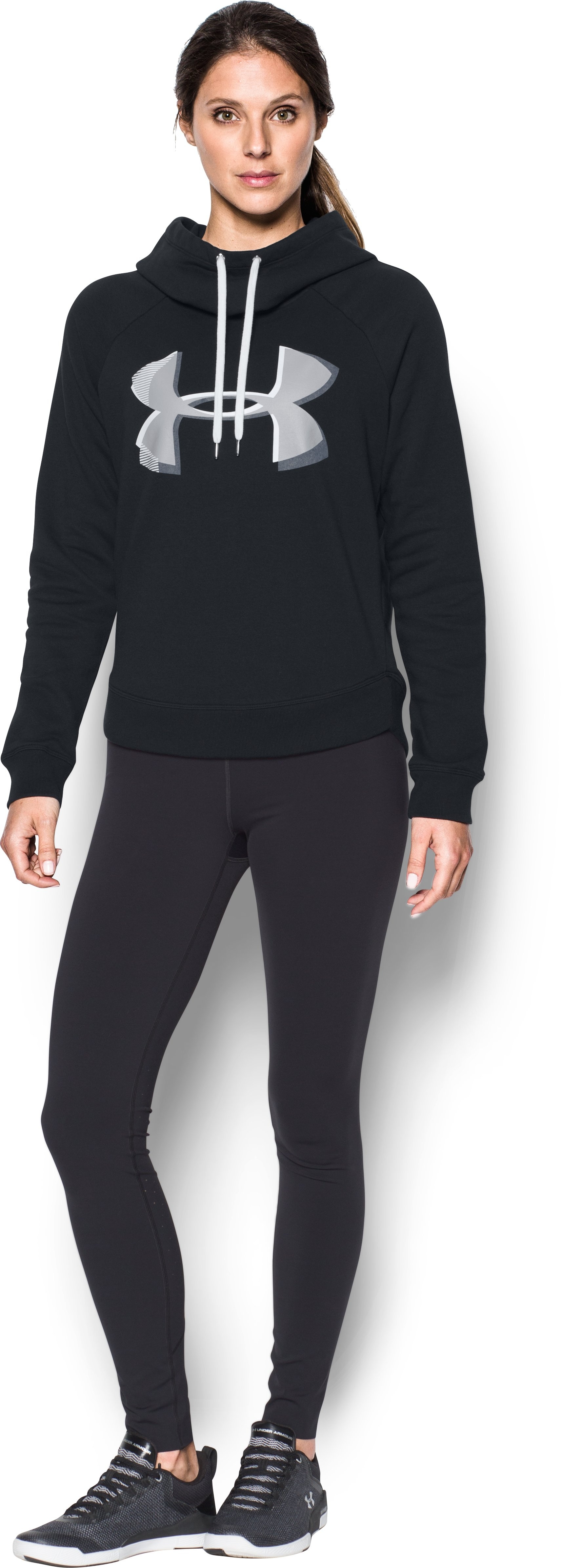 Women's UA Fashion Favorite Exploded Logo Pullover 2 Colors $29.99
