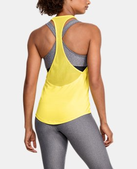 Women's HeatGear® Mesh Back Tank  1  Color Available $35