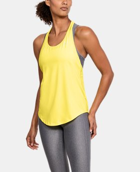 New Arrival Women's HeatGear® Armour Mesh Back Tank  3 Colors $30