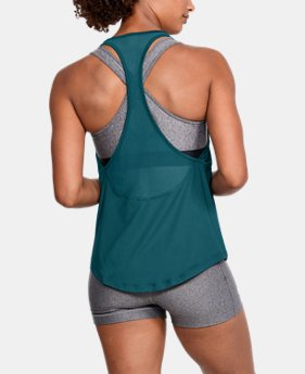 Women's HeatGear® Mesh Back Tank  1  Color Available $26.25