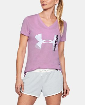 New Arrival Women's UA Threadborne V-Neck  1 Color $32.99