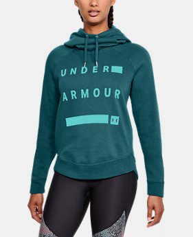 Women's UA Favorite Fleece Pullover Graphic Hoodie  2  Colors Available $50