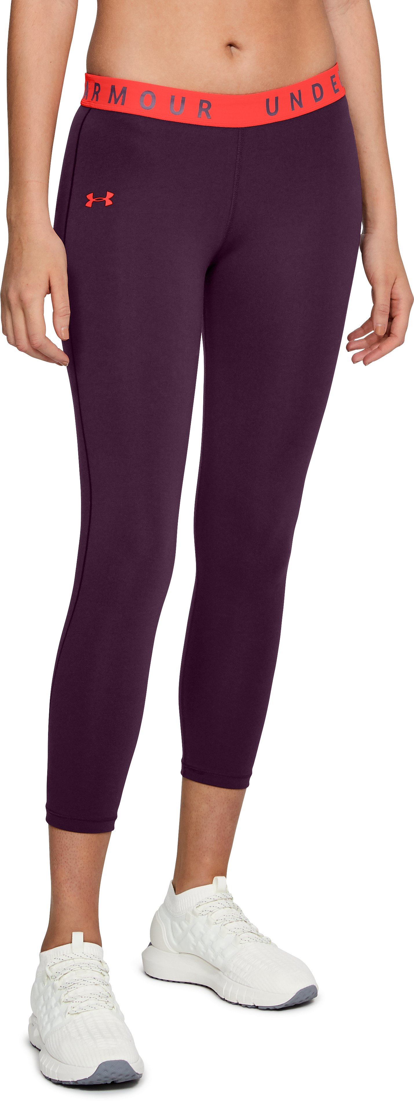 Women's UA Favorite Crop, MERLOT
