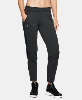 New Arrival Women's UA Featherweight Fleece Pants  1 Color $60