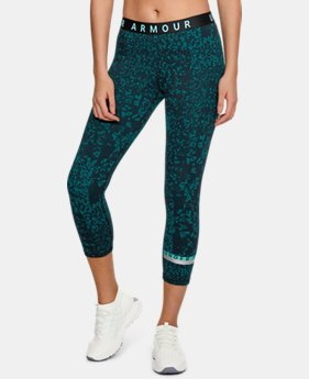 Women's UA Favorite Crop - Printed  2  Colors Available $37.5