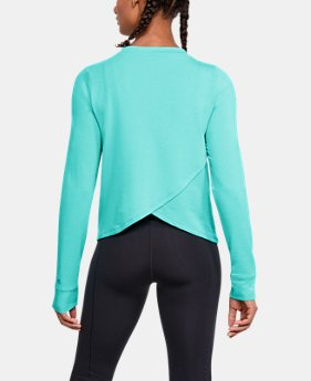 Women's UA Modal Terry Crew  1  Color Available $70