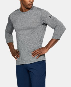 Men's UA Threadborne ¾ Utility T-Shirt  4 Colors $50