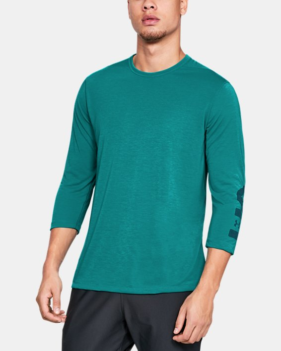 Men's UA Siro Utility T-Shirt Graphic, Green, pdpMainDesktop image number 0