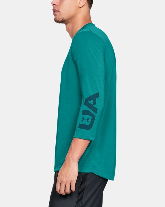 Men's UA Siro Utility T-Shirt Graphic, Green, pdpMainDesktop image number 3