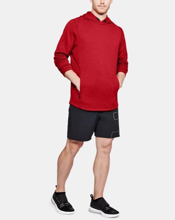 Men's UA MK-1 Terry Hoodie, Red, pdpMainDesktop image number 1