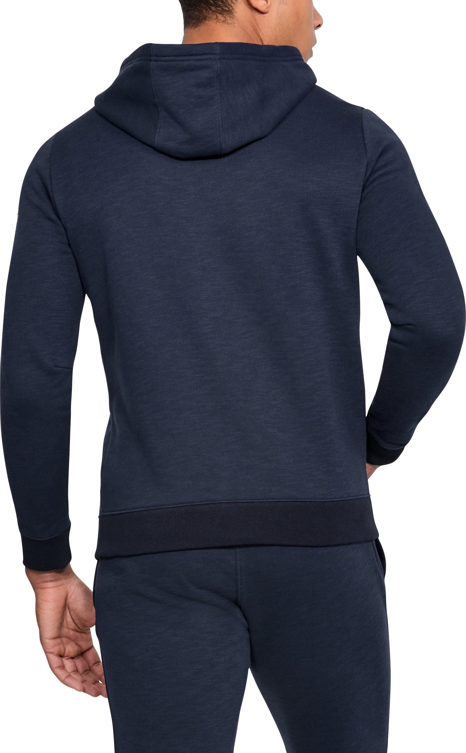 Men's UA Stars & Stripes Fleece Hoodie, Midnight Navy,