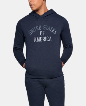 New Arrival Men's UA USA Fleece Hoodie  1 Color $59.99