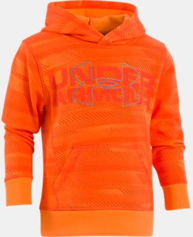 Boys' Pre-School UA Microthread Speedlines Hoodie  1  Color Available $33.74