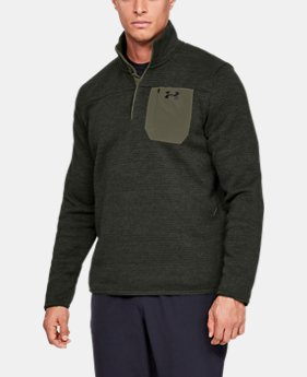 Men's UA Specialist Henley Long Sleeve  1  Color Available $80