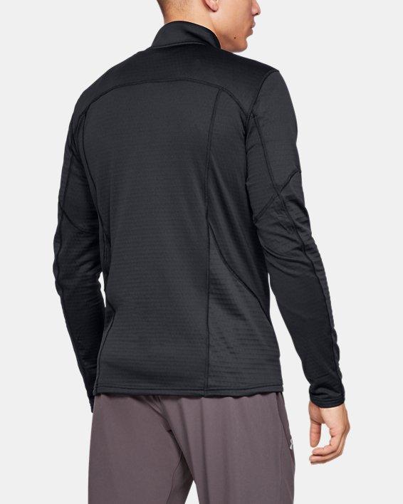 Men's UA Spectra ½ Zip, Black, pdpMainDesktop image number 2