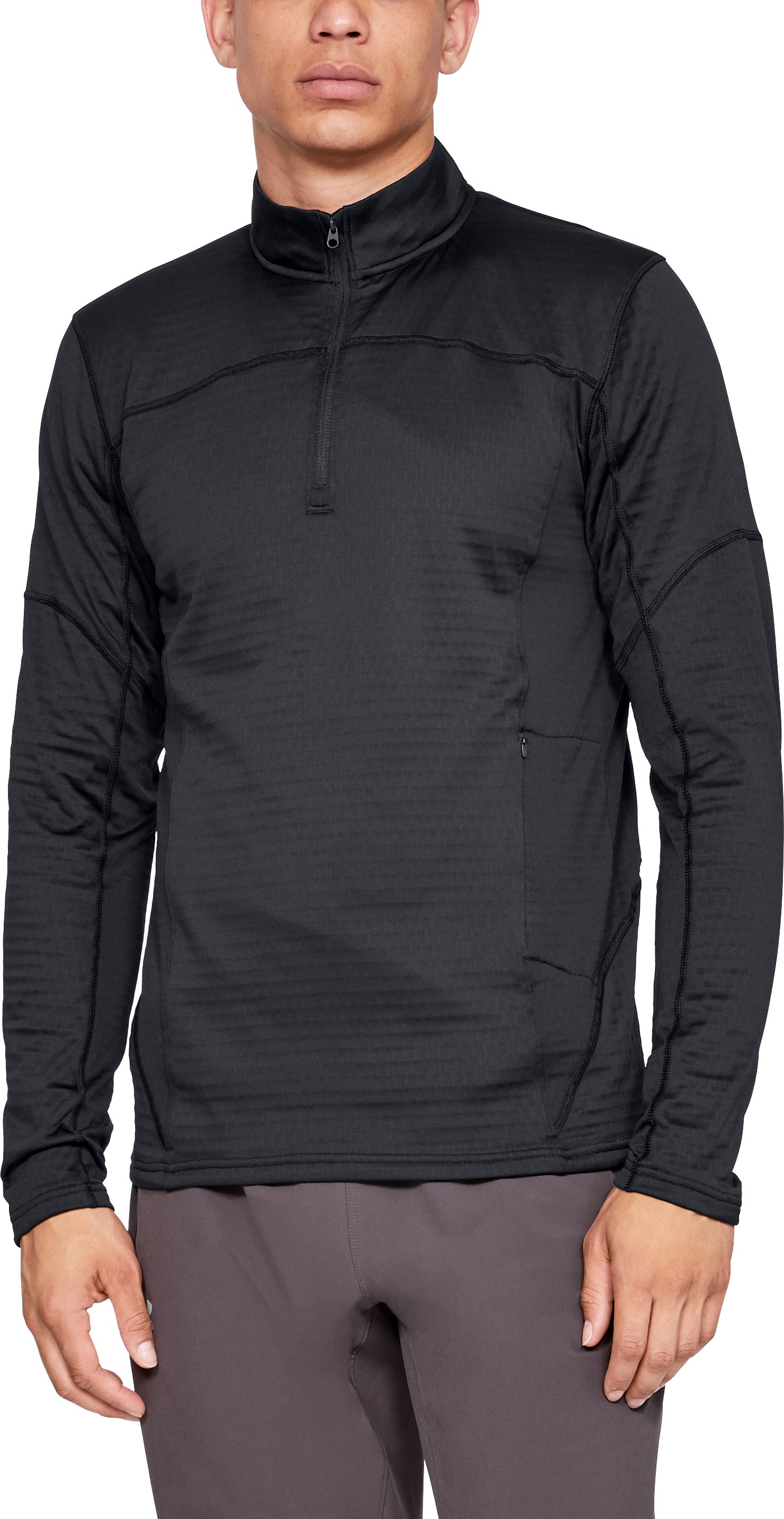 Men's UA Spectra ½ Zip, Black