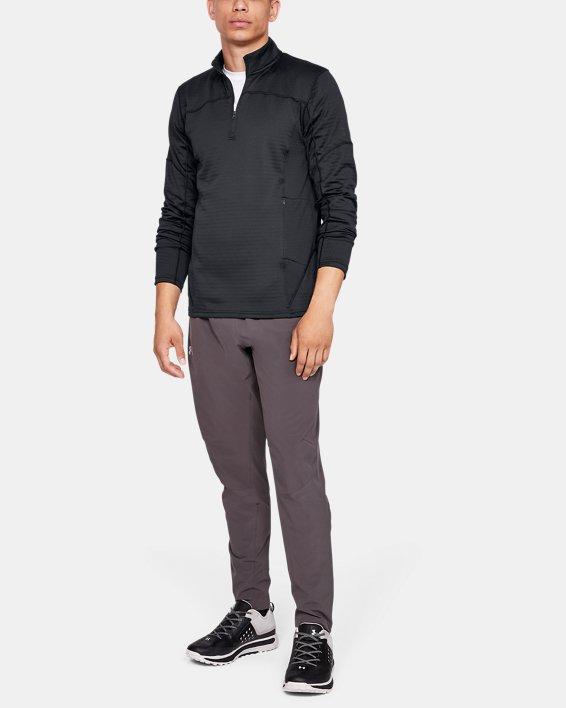 Men's UA Spectra ½ Zip, Black, pdpMainDesktop image number 1