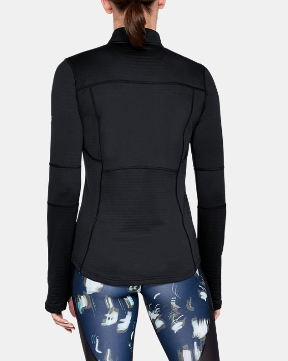 Women's UA Spectra ½ Zip, Black, pdpMainDesktop image number 0