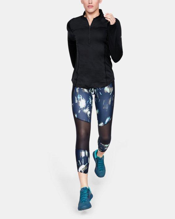 Women's UA Spectra ½ Zip, Black, pdpMainDesktop image number 1