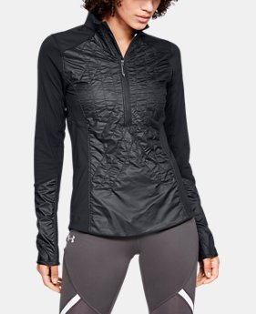 New Arrival Women's UA Terrain Hybrid ½ Zip Jacket  1  Color Available $150