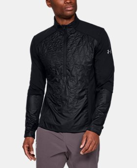New Arrival  Men's UA Terrain Hybrid ½ Zip Jacket  1  Color Available $180
